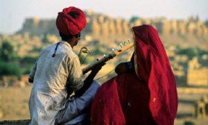 Indien – Jaisalmer och natt i Sam-öknen i lågbudget tältcamp
