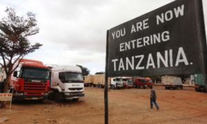 Kenya: Gränsen Kenya -Tanzania