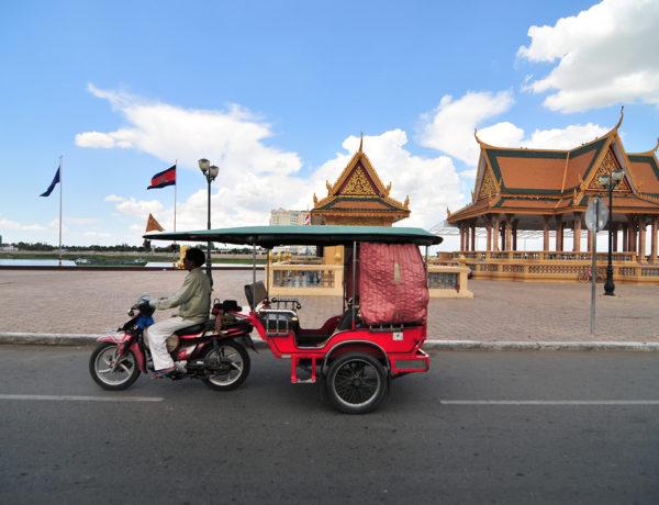 Kambodja, Phnom Penh – Rundtur i Phnom Penh