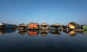 Kambodja: Siem Reap: På cykel och båt i Siem Reap och Tonle Sap