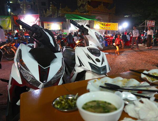 Myanmar – Kinesiska nattmarknaden i Mandalay och dålig engelska